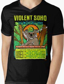 Soho Smith Street Mens V-Neck T-Shirt