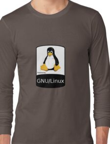 Powered by GNU/Linux ! Long Sleeve T-Shirt