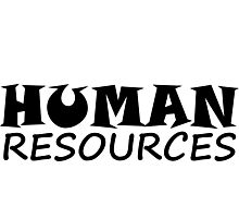 HUMAN RESOURCES Photographic Print