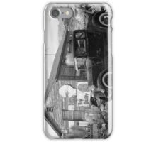Retro garage iPhone Case/Skin