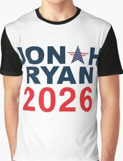 Jonah Ryan 2026 Graphic T-Shirt