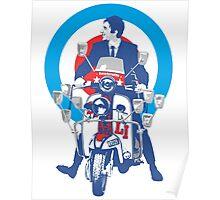 Lambretta Mod Culture Poster