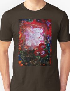 Poppies and gold Unisex T-Shirt