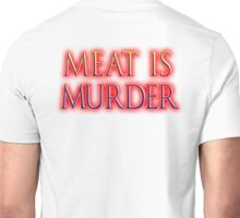 Vegetarian, Meat is Murder, Vegetarianism, Vegan, Unisex T-Shirt