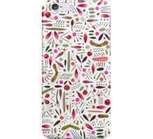Botanical Calamity Rose iPhone Case/Skin