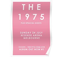 The 1975 Melbourne Tour Poster Poster