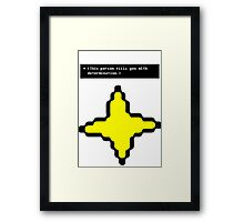 Save the Game? Framed Print