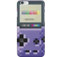 cool gameboy 8bit art iPhone Case/Skin