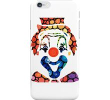 Clownin Around - Funny Circus Clown Art iPhone Case/Skin