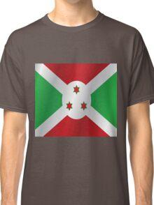 Burundi flag Classic T-Shirt