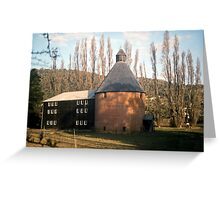 Oast House, New Norfolk, Tasmania—KODACHROME 64 Greeting Card