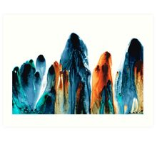 The Chosen Ones - Emotive Abstract Painting Art Print