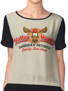 WALLEY WORLD - NATIONAL LAMPOONS VACATION (1) Chiffon Top