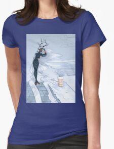 Winter Spirit Womens Fitted T-Shirt