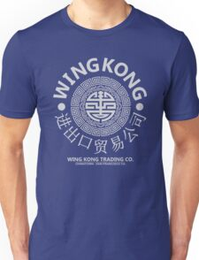 WING KONG - BIG TROUBLE IN LITTLE CHINA JACK BURTON (GREY) Unisex T-Shirt