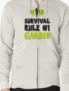 Survival Cardio Zipped Hoodie