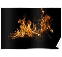 Fierce Flame Poster