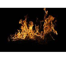 Fierce Flame Photographic Print