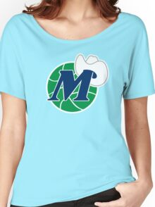 DALLAS MAVERICKS BASKETBALL Women's Relaxed Fit T-Shirt