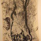 Sundry drawings/Foot -(031015)- Graphite stick by paulramnora