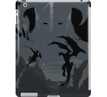 Skyrim Poster (black) iPad Case/Skin