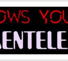 HOW'S YOUR FUNKENTELECHY? Sticker