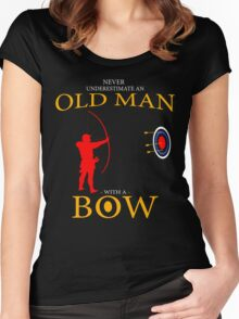 fathers day gift BOWMAN Women's Fitted Scoop T-Shirt