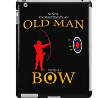 fathers day gift BOWMAN iPad Case/Skin