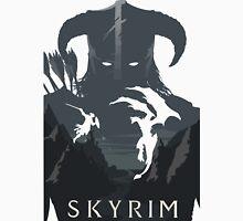 Skyrim Poster (white) Unisex T-Shirt