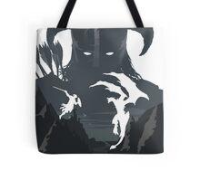 Skyrim Poster (white) Tote Bag