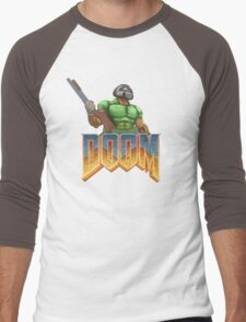 DOOM SPACE MARINE (1) Men's Baseball ¾ T-Shirt