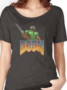 DOOM SPACE MARINE (1) Women's Relaxed Fit T-Shirt
