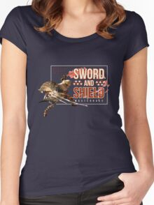 Sword and Shield Masterrace - Monster Hunter Generations Women's Fitted Scoop T-Shirt