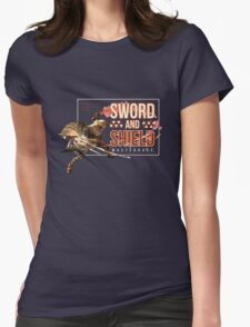Sword and Shield Masterrace - Monster Hunter Generations Womens Fitted T-Shirt