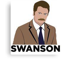 Ron Swanson! Canvas Print
