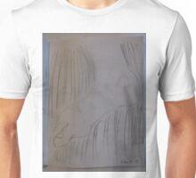 Imaginary foot drawing -(241015)- Pencil sketch Unisex T-Shirt