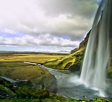 Seljalandsfoss in Iceland 2 by Caleb Ward