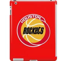 HOUSTON ROCKETS BASKETBALL RETRO iPad Case/Skin