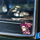 Zombie Elvis in my rear windshield by htrdesigns
