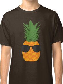 Cool Pineapple With Sunglasses Classic T-Shirt