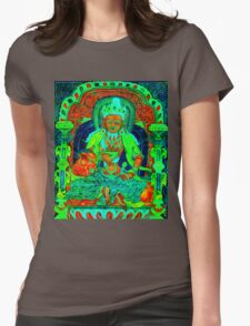 Agni Psychedelic Womens Fitted T-Shirt