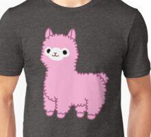 Pink Alpaca Unisex T-Shirt
