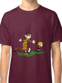 calvin hobbes jump Classic T-Shirt