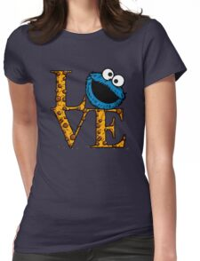 Love Cookies Womens Fitted T-Shirt
