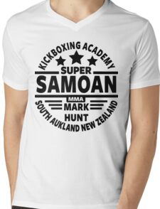 Mark Hunt, Super Samoan Mens V-Neck T-Shirt