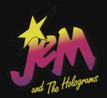 JEM AND THE HOLOGRAMS One Piece - Short Sleeve