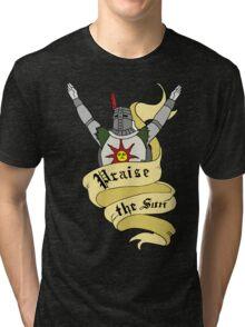 PRAISE THE SUN - BROS OF LORDRAN Tri-blend T-Shirt
