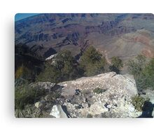 Looking Down On Grand Canvas Print