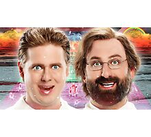 tim and eric show theory zone Photographic Print