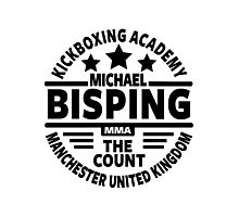 Michael Bisping Photographic Print